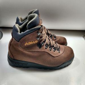Asolo Rainier Hiking Boots Women's sz 5.5 Vibram